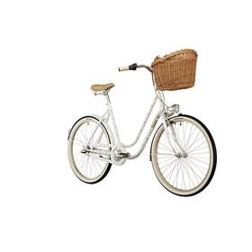 "Creme Molly Chic City Bike 26"" 3-speed white"